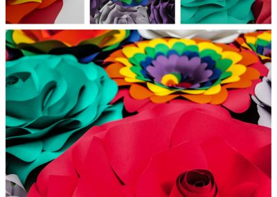 carolines paper blooms las vegas paper flower wall backdrops and art 05