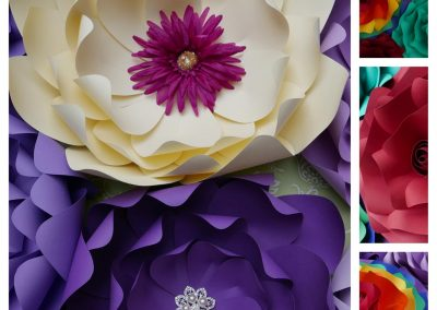 carolines paper blooms las vegas paper flower wall backdrops and art 06