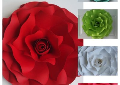 carolines paper blooms las vegas paper flower wall backdrops and art 08
